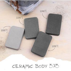 373 - gresie cu samota 30% 0- 0,5 mm, gri-negru 10 kg