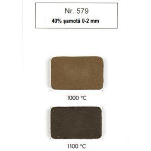 579 - gresie, 40 % samota, negru 10 kg