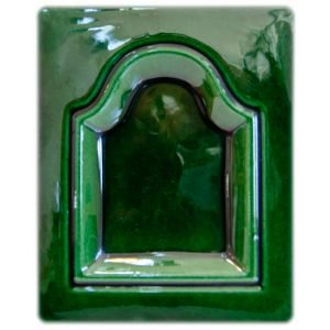 6/42 glazura verde cu plumb 980-990C