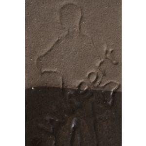 Angoba sinter maro inchis 1050-1150C