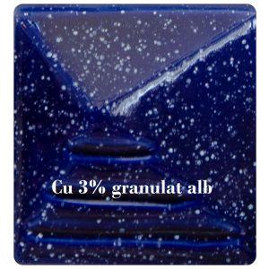 Azurit albastru cobalt lucios 980-1020C