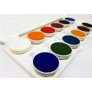 Coloranti decor peste glazura pe baza de apa