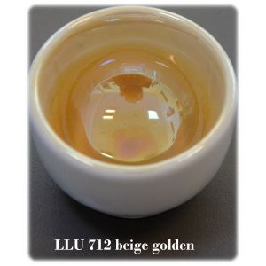 LLU 712 beige golden luster
