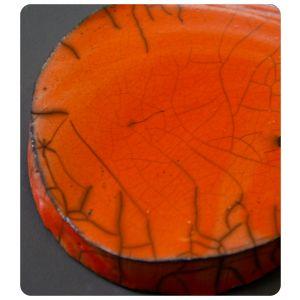 Raku 2 portocaliu 960-1000C