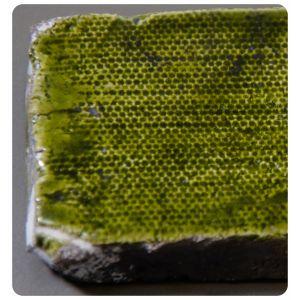 Raku 3 verde galbui 960-1000C