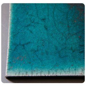 Raku 6 verde inchis 960-1000C