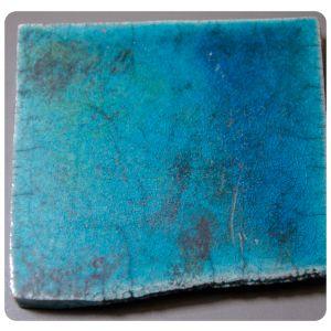 Raku 7 albastru alcalin 960-1000C